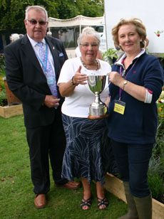 The 2012 Ready Steady Garden competition winner, Tracey James